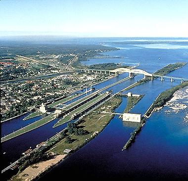 St Lawrence Seaway Locks Soo locks at sault ste marie
