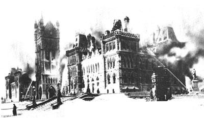 Parliament Buildings Fire